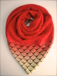 Anchor Red Scarf