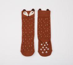 Bob & Blossom Ltd. :: Other Nice Things :: Brown Raccoon Socks