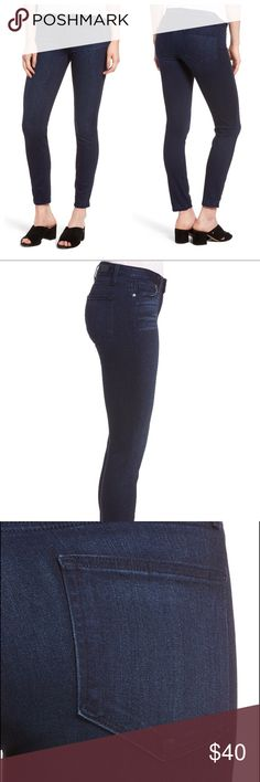 Paige Verdugo Ankle Skinny Jeans Super cute & comfortable jeans! They seriously go with everything & anything! Normal wear & They have pulling near the top of the jeans (see photo) but is not seen when they are worn. Originally bought from Nordstrom PAIGE Jeans