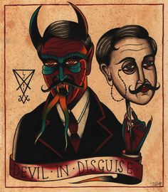 Devil in disguise by Luke Jinks, via Flickr