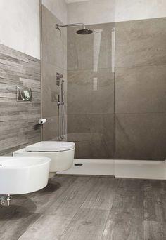 33 New Ideas Bathroom Remodel Tile Shower Home Large Tile Bathroom, Bathroom Design Small, Simple Bathroom, Bathroom Interior Design, Modern Bathroom, Dyi Bathroom, Craftsman Style Bathrooms, Casa Milano, Space Saving Bathroom