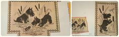 My happy sewing place...: Scottie Dog Patterns from the 30s and 40s