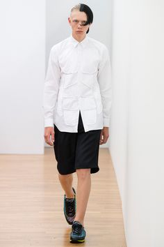 Comme des Garçons Shirt Spring 2018 Menswear Fashion Show Collection