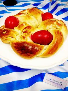 Greek Easter Brioche Bread