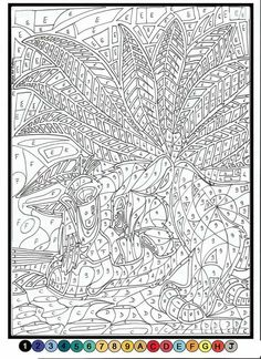 Free Printable Color By Number Coloring Pages Color By Number
