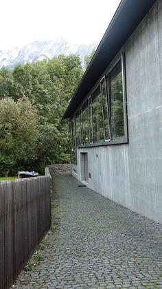 Zumthor House in Haldenstein by Peter Zumthor