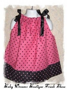 Another cute black and polkadot pillowcase dress. I am a little bit obsessed with polka dots