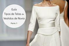 Guía tipos de telas para vestidos de novia (parte 1)
