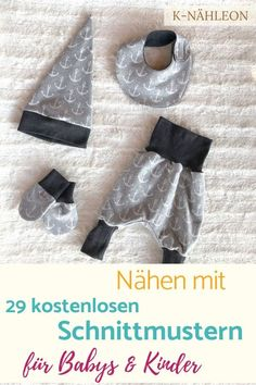 Sew your first baby equipment yourself with Freebooks # sew sewing pattern . - Sew your first baby equipment with Freebooks yourself # sew sewing pattern Sew your first baby equi - Sewing Patterns Free, Free Sewing, Free Pattern, Clothes Patterns, Baby Equipment, Diy Bebe, Floral Patches, First Baby, Baby Sewing