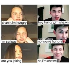 Shawn mendes sense of humor Shawn Mendes Memes, Shawn Mendes Imagines, Shawn Mendes Sister, Cameron Dallas, Funny Quotes, Funny Memes, Hilarious, Siblings Goals, Shawn Mendas