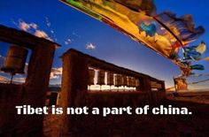 Tibet is not a part of china Tibet, China, London, United Nations, Free, Porcelain, London England