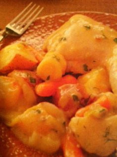 ... recipes: Chicken and Vegetables with Mustard Herb Sauce Cro... More