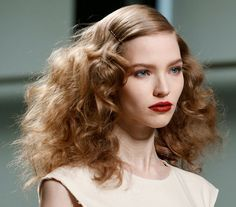 candystorecollective.com >> hair and makeup of bottega veneta fall 2013.