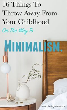 decluttering your home. things to get rid of. being organized. toss out. throw away. Minimalist Living Tips, Minimalist Bedroom, Minimalist Lifestyle, Book Organization, Bedroom Organization, Declutter Your Life, Home Decor Hacks, Furniture Deals, Organizer