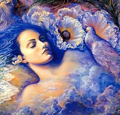 """Whispered Dreams (zoom 3)"" par Josephine Wall"