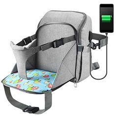 Gro/ße Kapazit/ät Baby Wickelrucksack Grau Ramotto Multifunktionale Wasserdichte Wickeltasche mit USB-Kabel Kinderwagen-haken Isolierte Tasche f/ür Unterwegs