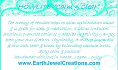 White howlite crystal energy