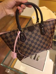 Real Louis Vuitton Caissa Tote PM Bag N41554 Rose