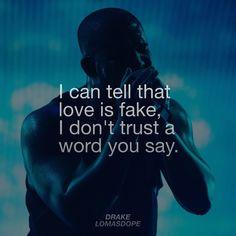 Drake - Fake Love