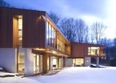 The Bridge House by Joeb Moore + Partners Architects