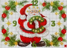 Santa Clock 1