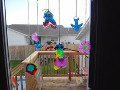 Time for Play: Colored Glue Suncatchers. This whole blog is filled with great ideas for fun learning through play activities with preschool children. A lot of them are messy!