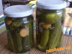 DOMÁCÍ LAK NA OKURKY Lak, Korn, Pickles, Cucumber, Pickle, Zucchini, Grains, Pickling