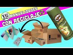 (309) Manualidades reciclaje -15 Manualidades con reciclaje - Colaboración - YouTube