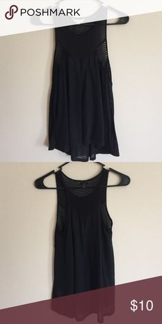 Top simple tank top, that is sheer once you put it on. American Eagle Outfitters Tops Tank Tops