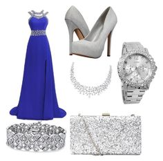 """prom"" by rabiahk ❤ liked on Polyvore featuring Palm Beach Jewelry, GUESS and Call it SPRING"