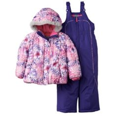1b78de2be822 R-Way by ZeroXposur Infant Toddler Girls  Puffer Jacket and Snow ...