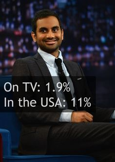Race And Gender Diversity On Television Vs. In The United States: Asian or Latino men (via BuzzFeed)