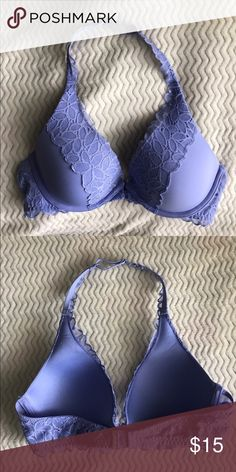 aerie bra cute to wear during the summer showing of the lace and fun color under a tank top. it's been w never worn and it's in great condition. 💜 aerie Intimates & Sleepwear Bras