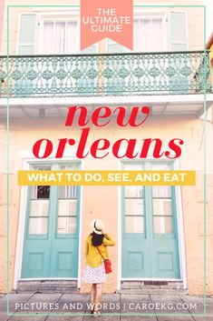3 Days in New Orleans: What to Do, See, and Eat // New Orleans Travel Guide, What to do in New Orleans, New Orleans Activities, New Orleans City Guide, Things to Do in New Orleans, New Orleans Tips, New Orleans, Louisiana, USA