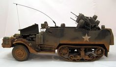 M16 Halftrack  Model by Andy Glessner