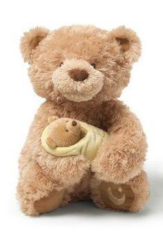 Gund Rock-A-Bye Baby Musical Teddy Bear