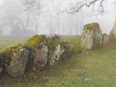Celtic: Grange Lios, Stone Circle, County Limerick, Ireland.