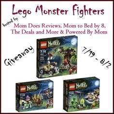 Lego Monster Fighters Giveaway  NEW GIVEAWAY has just opened up... So BUZZ on over and enter ;)