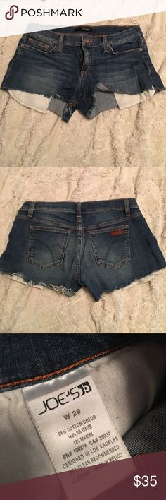 Joe's jean's jean shorts Size 29. Great pair of shorts. Only worn a couple of times Joe's Jeans Shorts Jean Shorts
