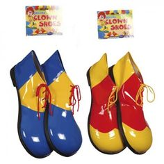 Clownschuhe Clown Schuhe bunt Fasching Karneval