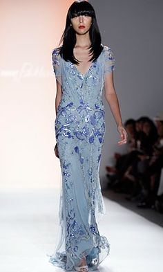 Jenny Packham Spring Summer 2012 - looks like it was inspired by 1920's fashion