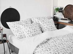 pościel-szare-kreseczki---MUMLA---5 Bed Pillows, Pillow Cases, Home, Pillows, Ad Home, Homes, Haus, Houses