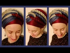 The Wrapunzel Triple Twist Turban! Hair Wrap Scarf, Hair Scarf Styles, Mode Turban, Turban Hijab, Turban Tutorial, African Head Wraps, Turban Style, African Braids, Bad Hair Day