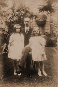 GD Dmitri's father Grand Duke Paul Alexandrovich and half sisters Princesses Irina and Natalia Paley.