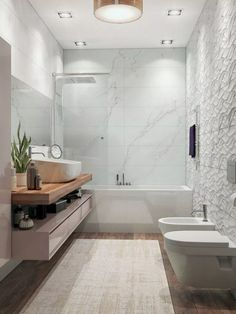 The Downside Risk Of Luxury Bathroom Decor Ideas Completed With Modern And Attractive Design 23 - homesuka Scandinavian Bathroom Design Ideas, Modern Bathroom Design, Bathroom Interior Design, Bathroom Designs, Bad Inspiration, Bathroom Inspiration, Bathroom Countertops, Small Bathroom, Bathroom Ideas