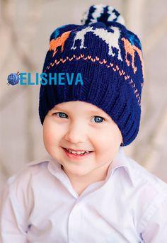 20 самых популярных детских шапочек вязаных спицами в 2015 году | Блог elisheva.ru