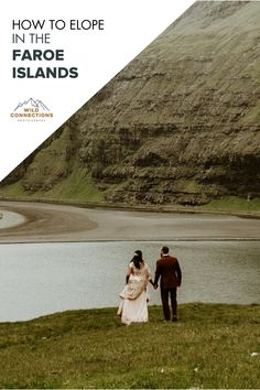 How To Elope In The Faroe Islands Coach Tours, Tourist Spots, Faroe Islands, Elopement Inspiration, Wedding Couples, Getting Married, Wild Flowers, Tourism, Beautiful Places