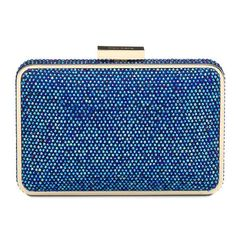 Crystal Pod Clutch - Blue