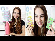 DIY: Abajur e Capa de Celular usando desenhos do livro de colorir Jardim Secreto - YouTube