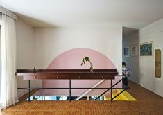 nadja apartment by point supreme architects is bold, bright, and fun